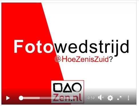Hanneke Dijkman, werkgeluk , coach, zenleraar, Rotterdam Zuid, New Options fotowedstrijd hoe zen is zuid link naar video