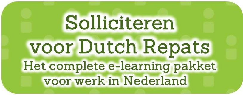 solliciteren e-learning dutch repats