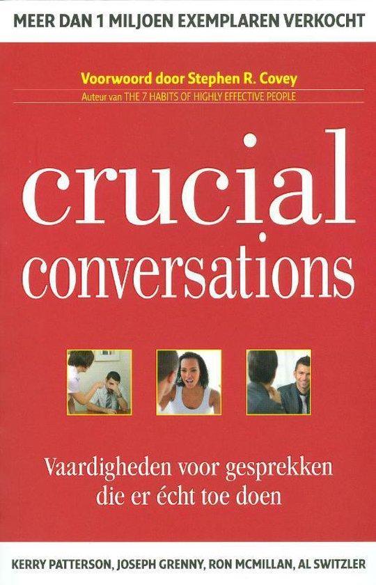 Werkgeluk, leerdoelen, voice dialogue, Rotterdam-Zuid, boek Crucial Conversations