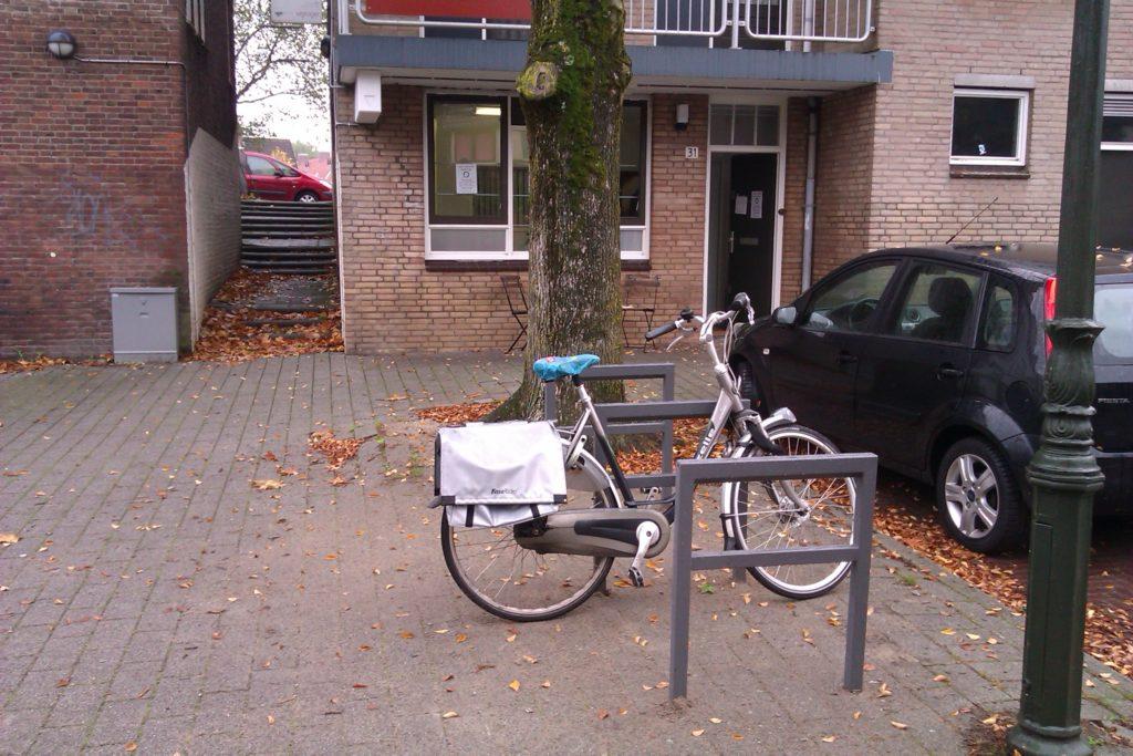 Werkgeluk, leerdoelen, voice dialogue, Rotterdam-Zuid, Fiets geparkeerd bij Zen.nl Rotterdam-Zuid