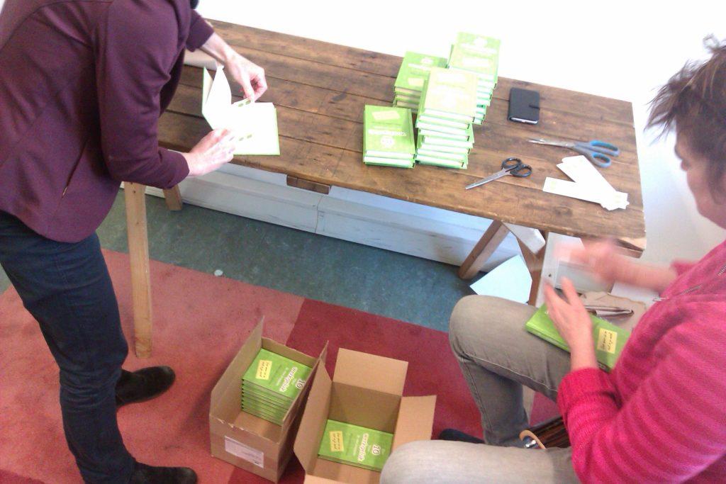 Werkgeluk, leerdoelen, voice dialogue, Hanneke's pragmatische ik werkt aan de boeken