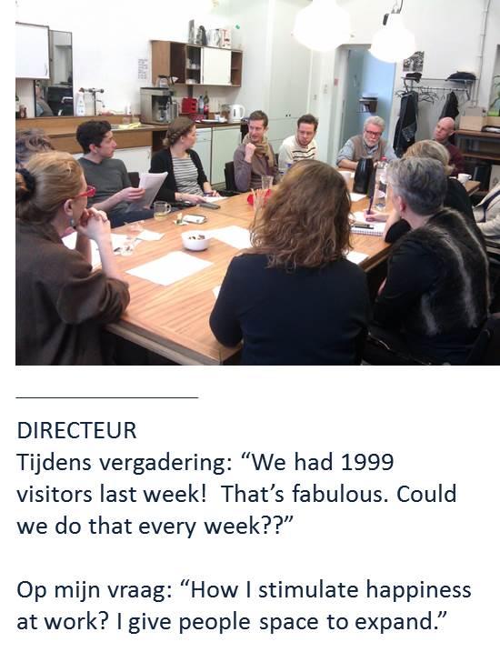 Werkgeluk, leerdoelen, voice dialogue, Rotterdam-Zuid, Directeur