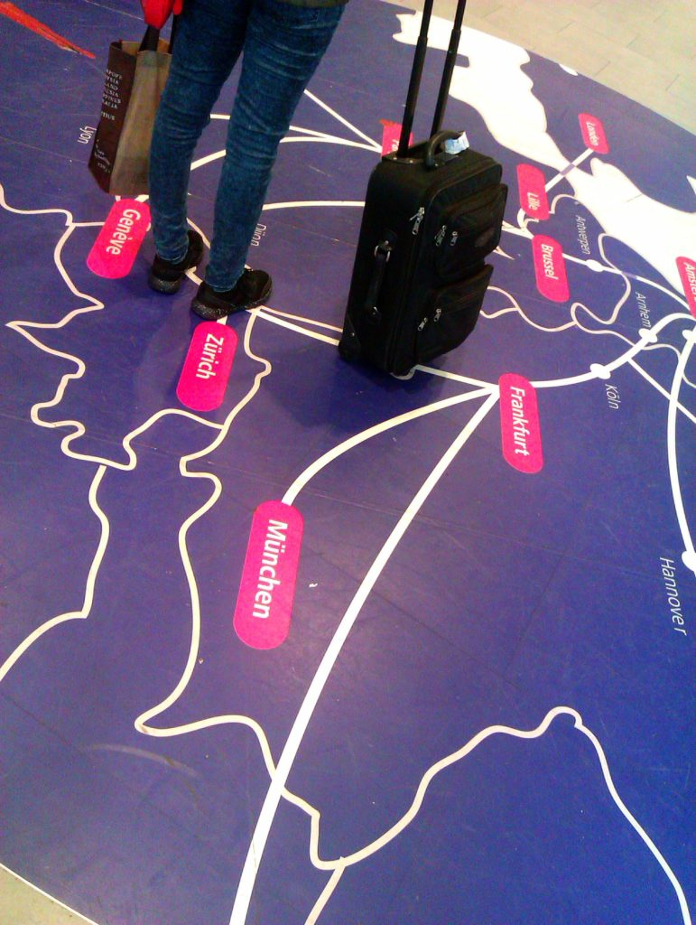Werkgeluk, leerdoelen, voice dialogue, Rotterdam-Zuid, Koffer internationaal station Rotterdam