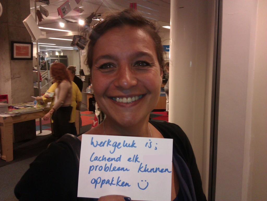 Werkgeluk, leerdoelen, voice dialogue, Rotterdam-Zuid, Werkgeluk is lachend elk probleem kunnen oppakken