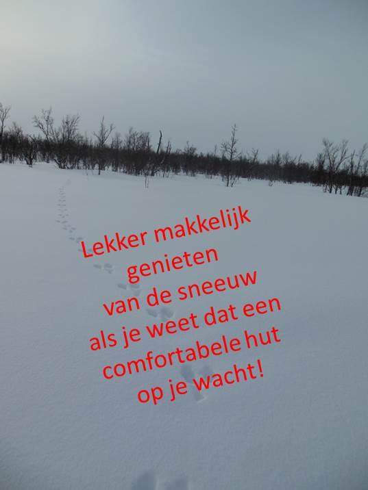 Werkgeluk, leerdoelen, voice dialogue, Rotterdam-Zuid, Lekker makkelijk genieten van de sneeuw als je weer dat een comfortabele hut op je wacht!