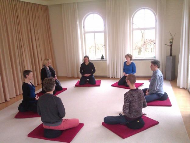 Werkgeluk, leerdoelen, voice dialogue, Rotterdam-Zuid, Meditatie op een werkgeluk weekend