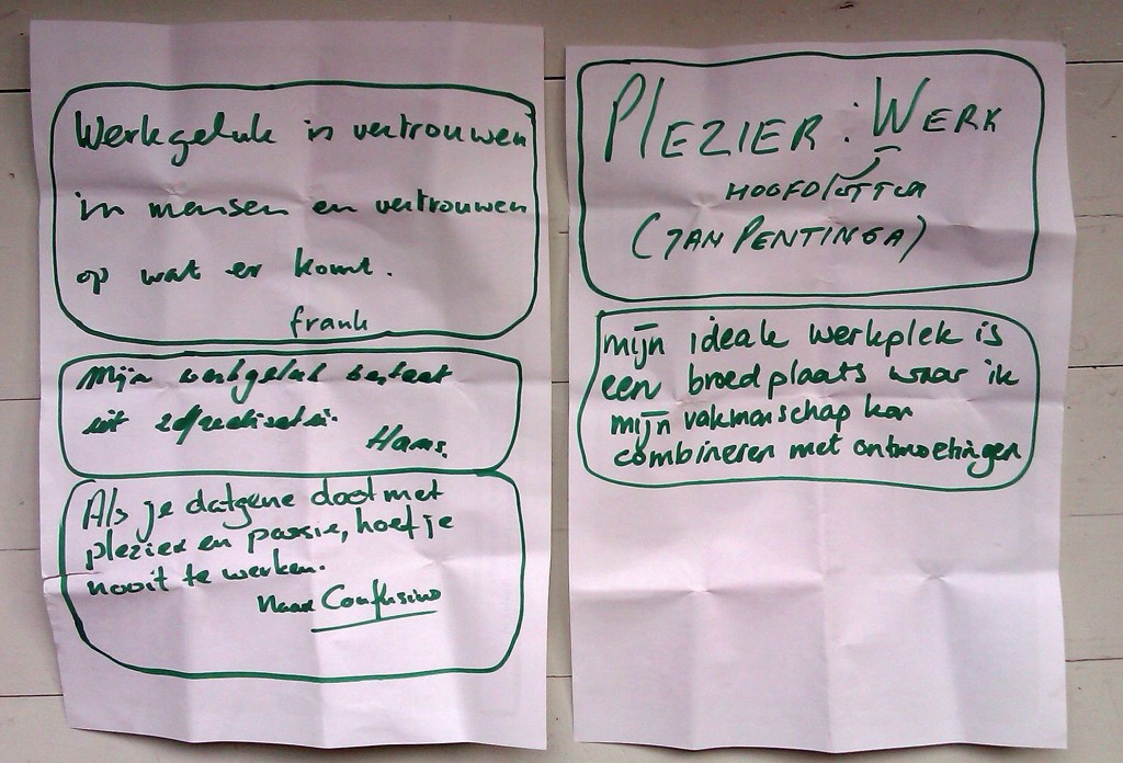 Werkgeluk, leerdoelen, voice dialogue, Rotterdam-Zuid, 5 Quotes Geschreven