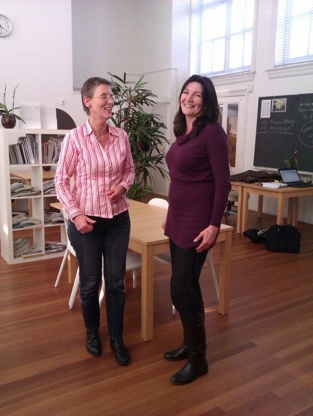 Werkgeluk, leerdoelen, voice dialogue, Rotterdam-Zuid, Hanneke met Dorrit Steens