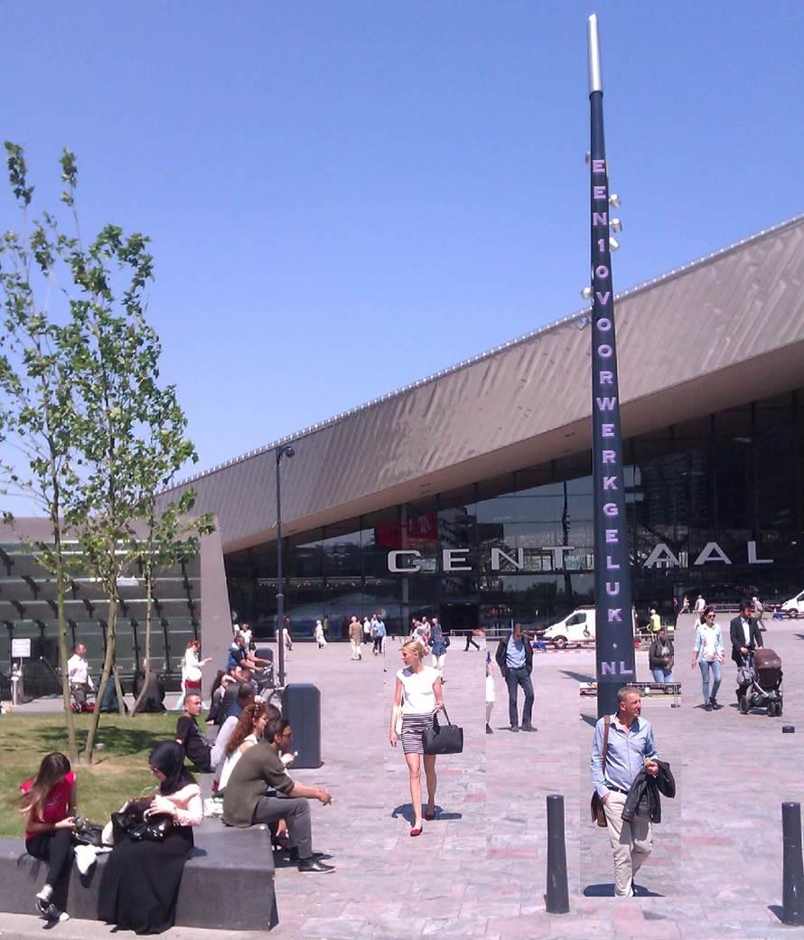 Werkgeluk, leerdoelen, voice dialogue, Rotterdam-Zuid, Een 10 voor Werkgeluk op Rotterdam Centraal