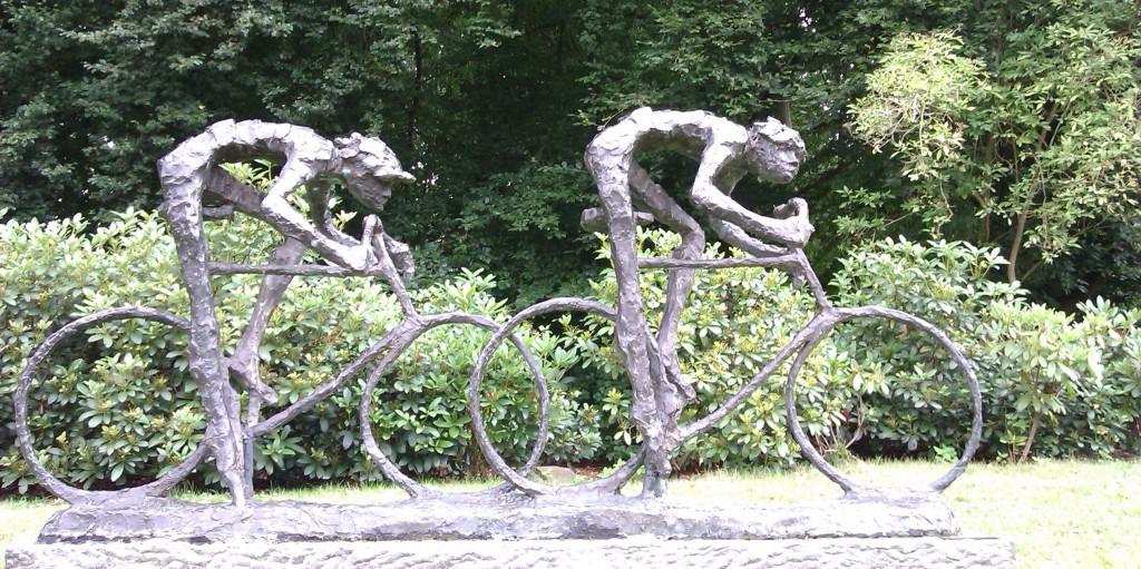 Werkgeluk, leerdoelen, voice dialogue, Rotterdam-Zuid, Standbeeld fietsen