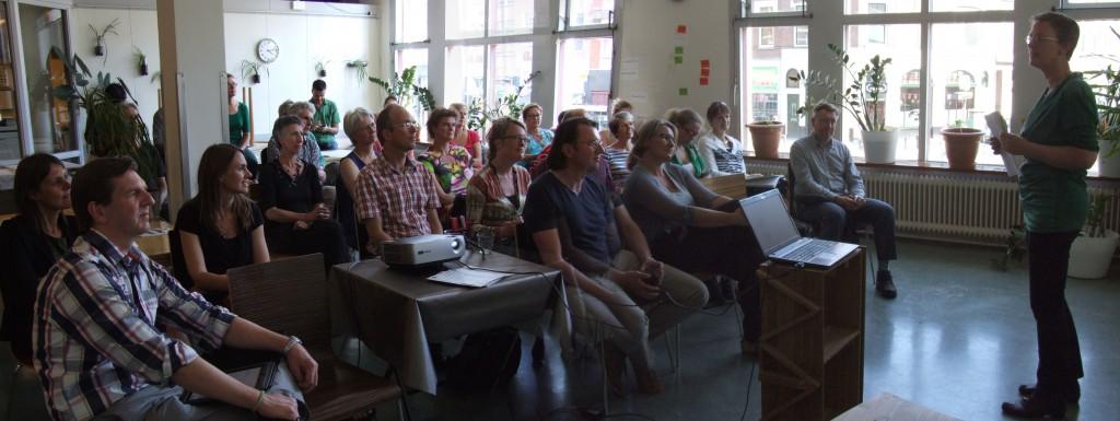 Werkgeluk, leerdoelen, voice dialogue, Rotterdam-Zuid, Lezing Hanneke