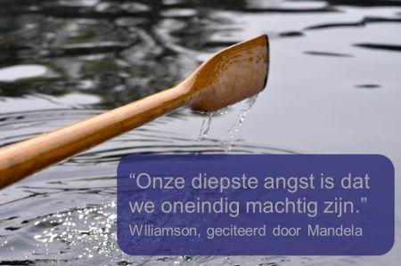 Werkgeluk, leerdoelen, voice dialogue, Rotterdam-Zuid, Quote Marianne Williamson