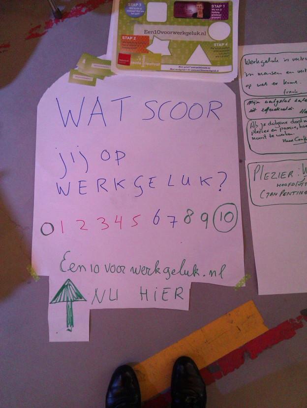Werkgeluk, leerdoelen, voice dialogue, Rotterdam-Zuid, Wat scoor jij op werkgeluk?