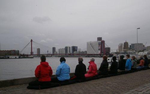 Werkgeluk, leerdoelen, voice dialogue, Rotterdam-Zuid, Zen mediteren aan de maas
