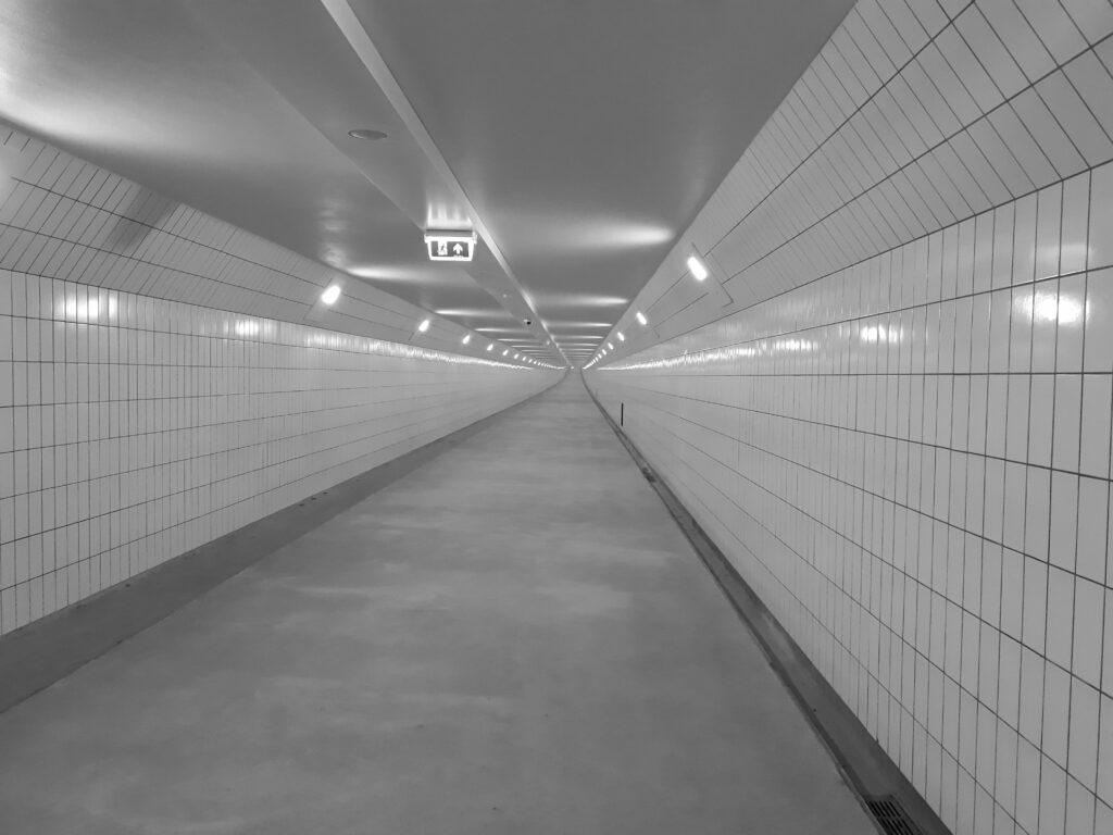 leerdoel ruimte zien, Maastunnel
